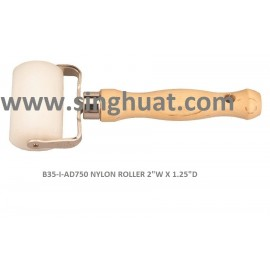 "B35-I-AD750 NYLON ROLLER 2""W X 1.25""D * Images are for illustrative purposes only *"