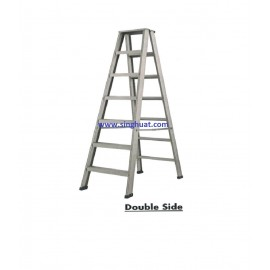 A FRAME ALUMINIUM LADDER - DOUBLE SIDE * Images are for illustrative purposes only*