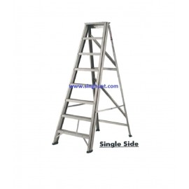 A FRAME ALUMINIUM LADDER - SINGLE SIDE * Images are for illustrative purposes only*