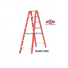 A FRAME FIBERGLASS LADDER - DOUBLE SIDE * Images are for illustrative purposes only*