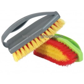 PVC Hand Scrub Brush * Images are for illustrative purposes only *