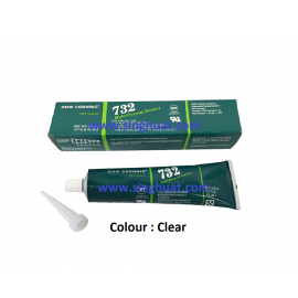732 MULTI-PURPOSE SEALANT CLEAR  * Images are for illustrative purposes only *