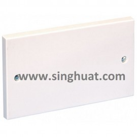White Colour PVC Blank Plate * Images are for illustrative purposes only *
