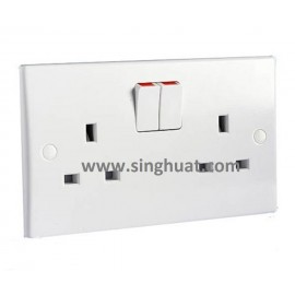 White Colour PVC Socket Cover * Images are for illustrative purposes only *
