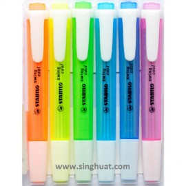 Highlighter with Pocket Clip