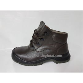 KWD 901K Full Grain Leather Laced Boot ( PSB Approved ) * Images are for illustrative purposes only *