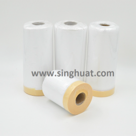 M49-I-MFR0550-030 - 550mmW, 30mtr PE MASKING FILM * Images are for illustrative purposes only *