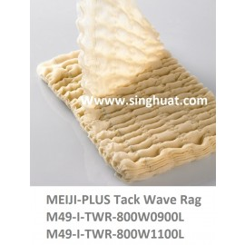M49-I-TWR-800W1100L 800X1100 COTTON WAVE TACK RAG * Images are for illustrative purposes only *