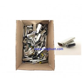 """5/8"""" METAL CLIP FOR PVC STRAPPING * Images are for illustrative purposes only *"""