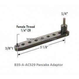 "5-1/8"" PANCAKE B35-A-AC529 * Images are for illustrative purposes only *"