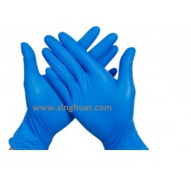Nitrile Blue Colour Glove - SIZE MEDIUM * Images are for illustrative purposes only *