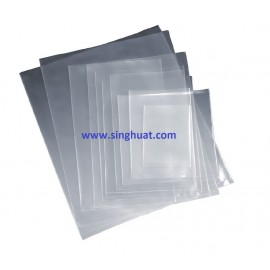 CLEAR PE PLASTIC BAG * Images are for illustrative purposes only *