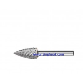 CARBIDE BURRS - SG TREE POINTED END TYPE * Images are for illustrative purposes only *