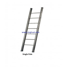 SINGLE POLE FIREMAN LADDER - ALUMINIUM * Images are for illustrative purposes only*
