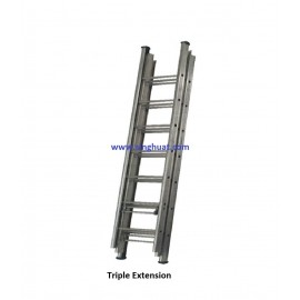 TRIPLE EXTENSION FIREMAN LADDER - ALUMINIUM * Images are for illustrative purposes only*
